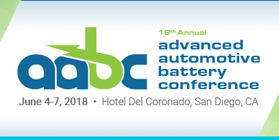 18th Annual Advanced Automotive Battery Conference in San Diego